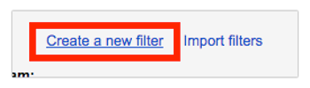 "Go to the ""Filters and Blocked Addresses"" Tab"