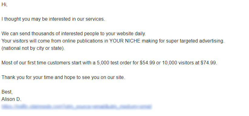 Pitching Sales Examples of how not to Send Cold Emails not to do