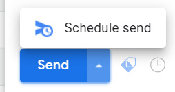Schedule emails, Gmail hacks
